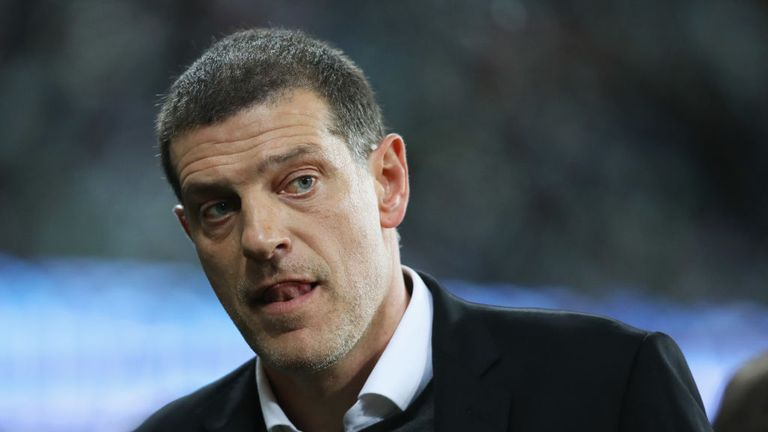Slaven Bilic is under pressure after the heavy 4-1 defeat at home to Liverpool