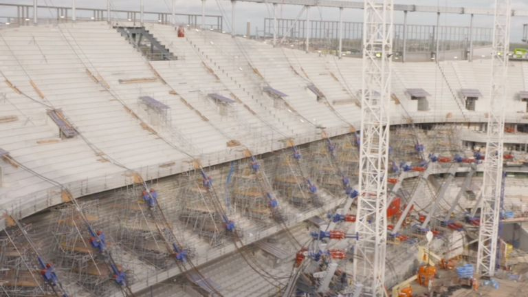 Tottenham's new stadium at White Hart Lane will have an increased capacity of 62,062