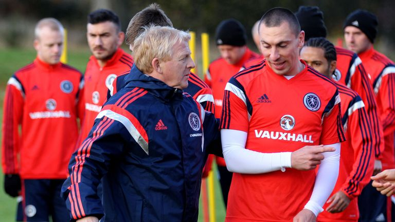 Gordon Strachan persuaded Scott Brown out of Scotland retirement last year