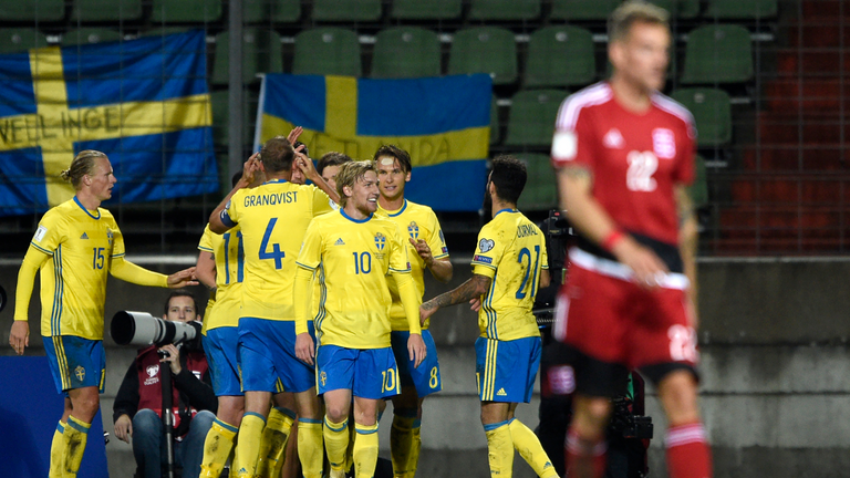 Sweden brushed aside Luxembourg in Stockholm