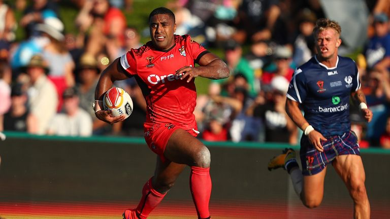 Tonga are boosted by the return of Michael Jennings for Saturday's quarter-final clash with Lebanon