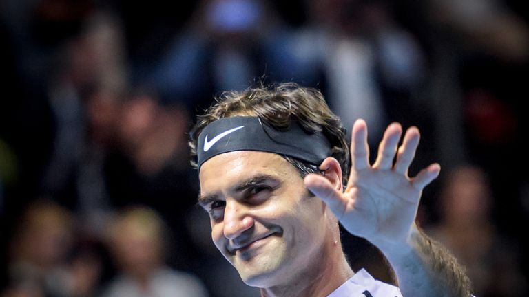 Roger Federer could be crowned world No 1 with 180 points up for grabs for reaching the last four in Rotterdam