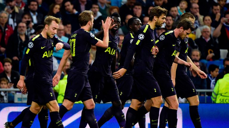 Tottenham put in an impressive display against the Champions League holders
