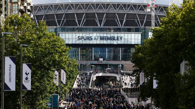 Tottenham have struggled in the league at Wembley this season