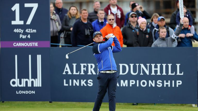 Tyrrell Hatton is a two-time winner of the Dunhill Links