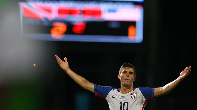 Christian Pulisic's goal was not enough for the United States