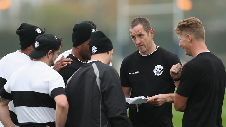 Greenwood enjoyed a successful coaching stint with the Baa-Baas last Autumn