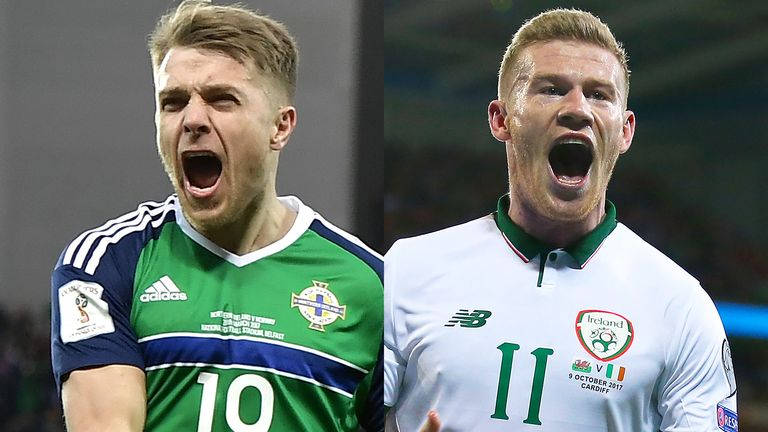 Northern Ireland and Republic of Ireland have both reached the play-offs