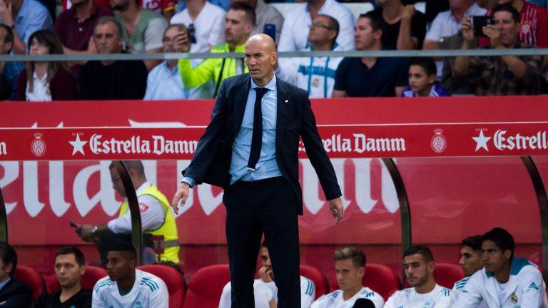 Zinedine Zidane has praised Cristiano Ronaldo