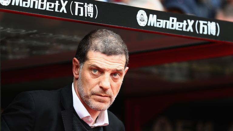 Slaven Bilic was sacked by West Ham on Monday following over two years in charge
