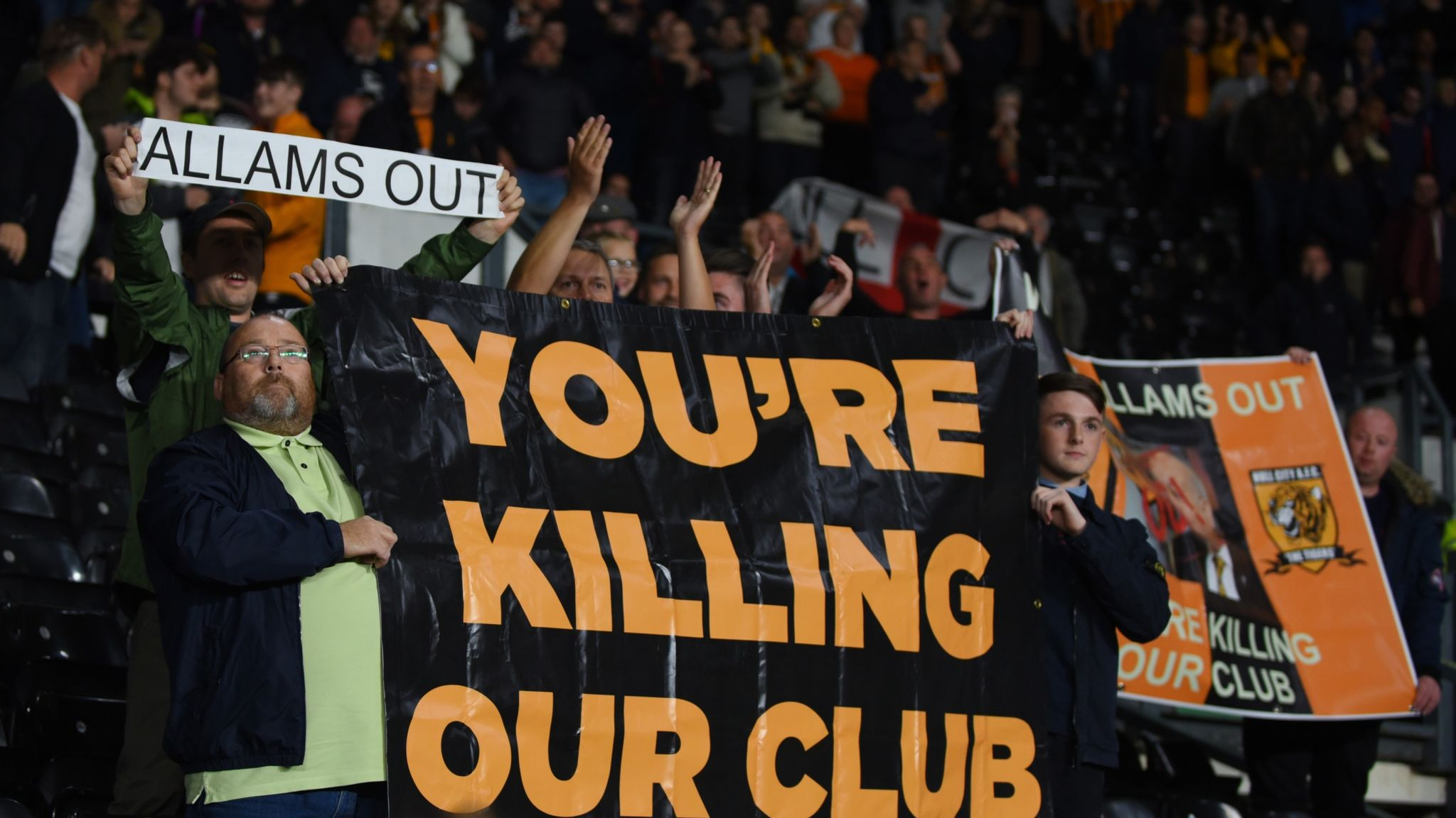 Hull City's owners plead for amnesty during matches | Football ...