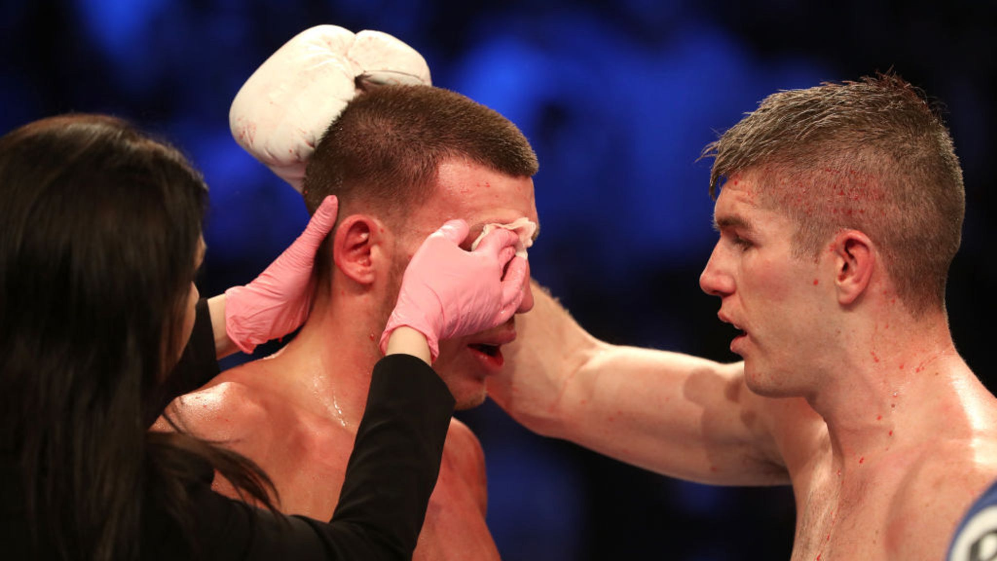 Liam Smith sets up world title tile after out-pointing ...