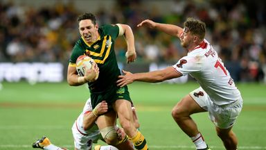 Billy Slater made a remarkable return to international rugby