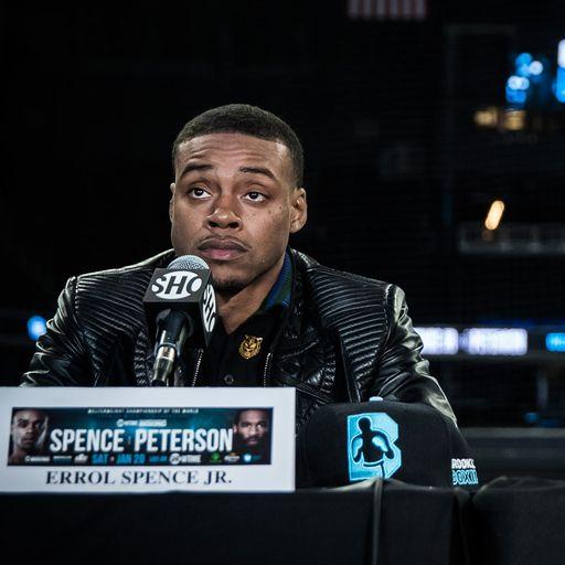 Spence Jr open to Khan challenge