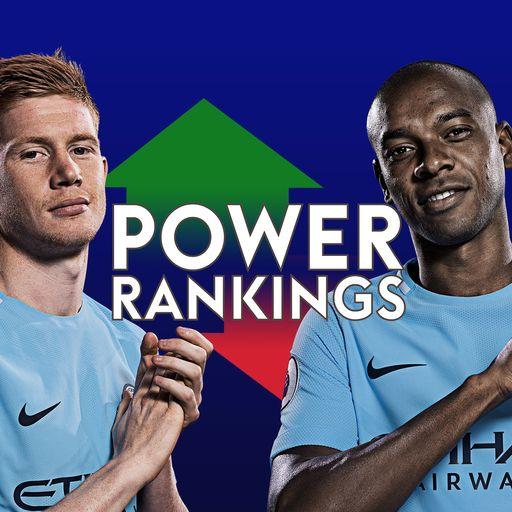 Fernandinho & KDB top PL Power Rankings