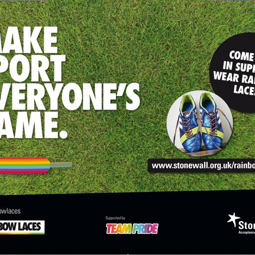 Sky Sports backs Rainbow Laces campaign