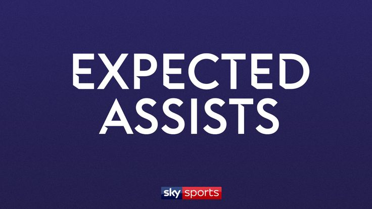 Expected assists graphic for Sky Sports Premier League