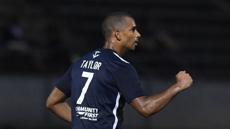 Panama international Tony Taylor in action for Jacksonville Armada [Credit: Todd Drexler / Armada FC]