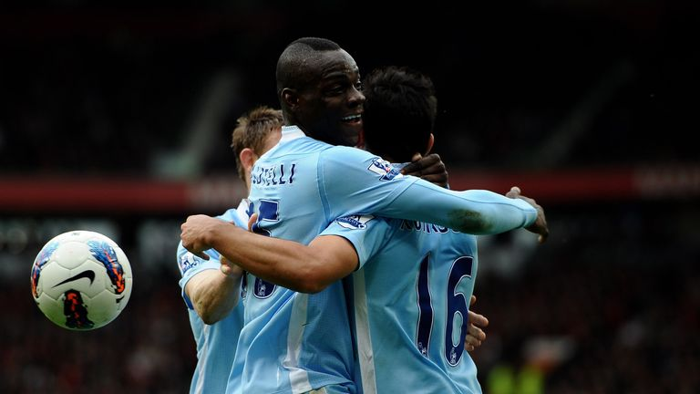 Balotelli scored twice the day after a fire at his house caused by a firework going off in a bathroom