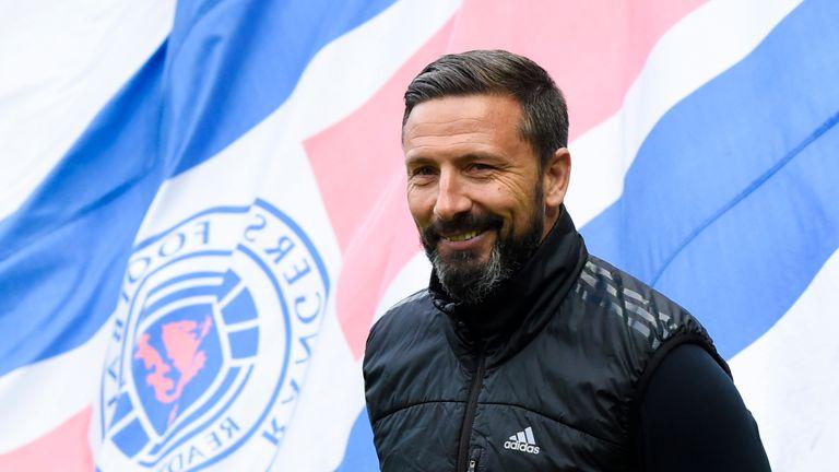 Aberdeen manager Derek McInnes did not take first-team training on Wednesday morning