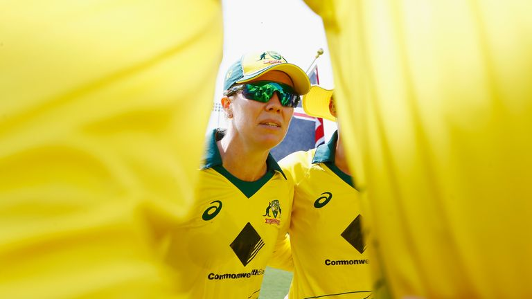 Central figure: Alex Blackwell has now made 250 interntional appearances for Australia
