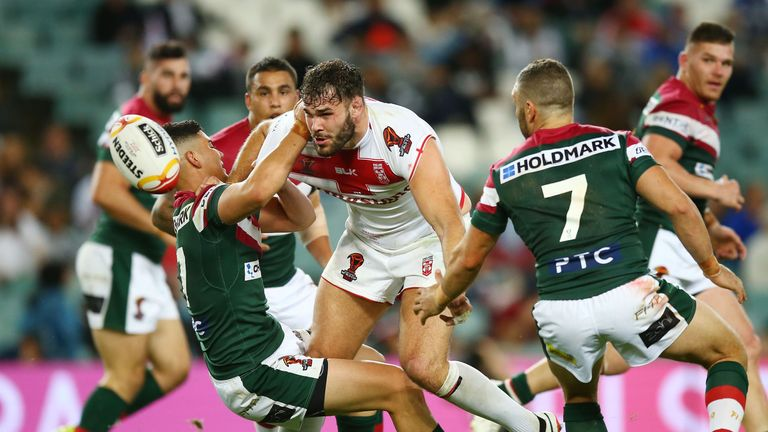Alex Walmsley and co did not perform to anywhere near their best