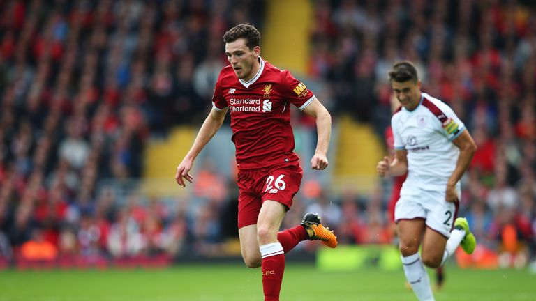 Andy Robertson has been impressing for Liverpool of late