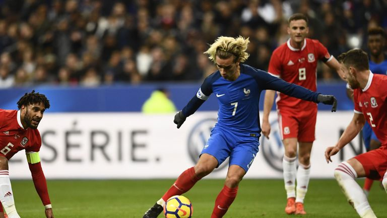 France international Antoine Griezmann has struggled for form at Atletico Madrid this season