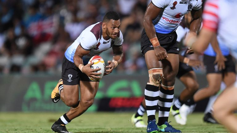 Apisai Koroisau has been a live-wire for Fiji at dummy half, posing a huge threat to defensive lines