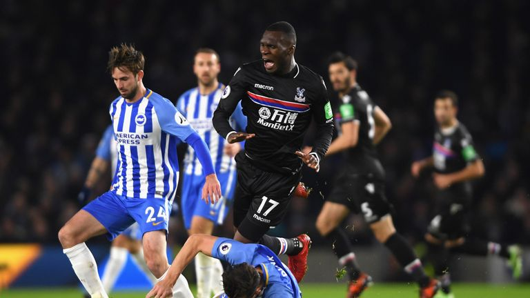 The last league derby between Brighton and Crystal Palace ended in a 0-0 draw