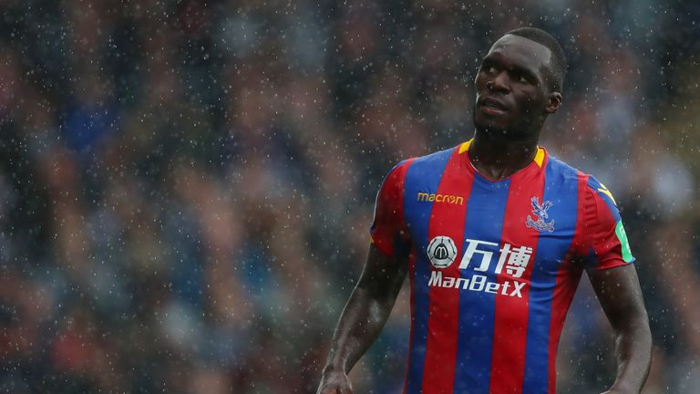 Christian Benteke has only played seven times for Palace this season