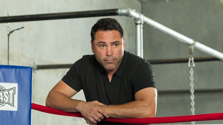 Oscar De La Hoya has not fought since 2008