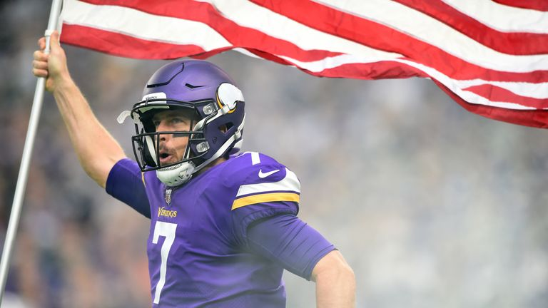 Could Case Keenum lead the Vikings all the way to the Super Bowl in their home stadium?