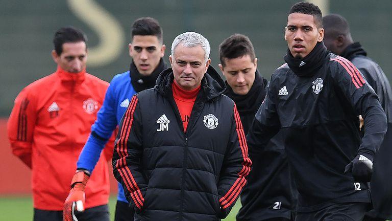 Chris Smalling has praised Jose Mourinho