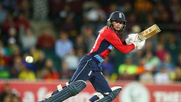 Dani Wyatt hit a century in the final IT20 of the Women's Ashes