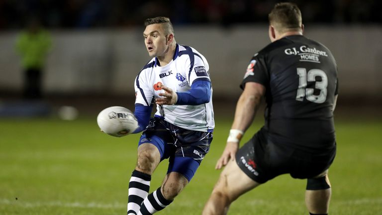 Captain Danny Brough was one of three Scots sent home for misconduct