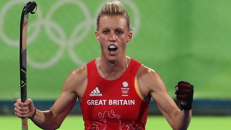 Alex Danson won Olympic gold with Great Britain at Rio 2016