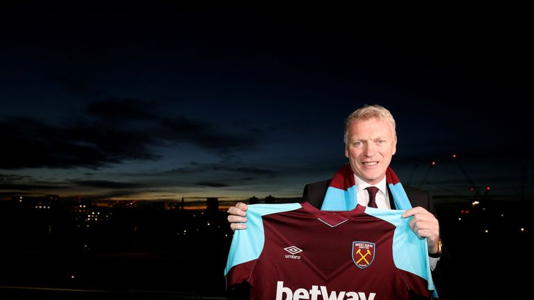 David Moyes was given a six-month contract as West Ham manager