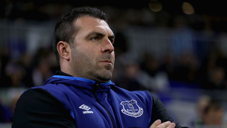 David Unsworth took over as caretaker boss following Ronald Koeman's sacking