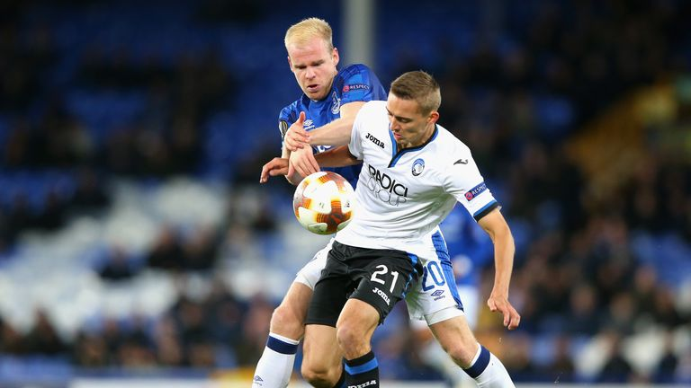 Davy Klaassen was one of a number of players handed an opportunity