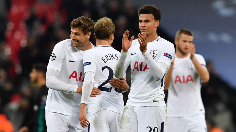 Dele Alli and his teammates were too good for Real Madrid