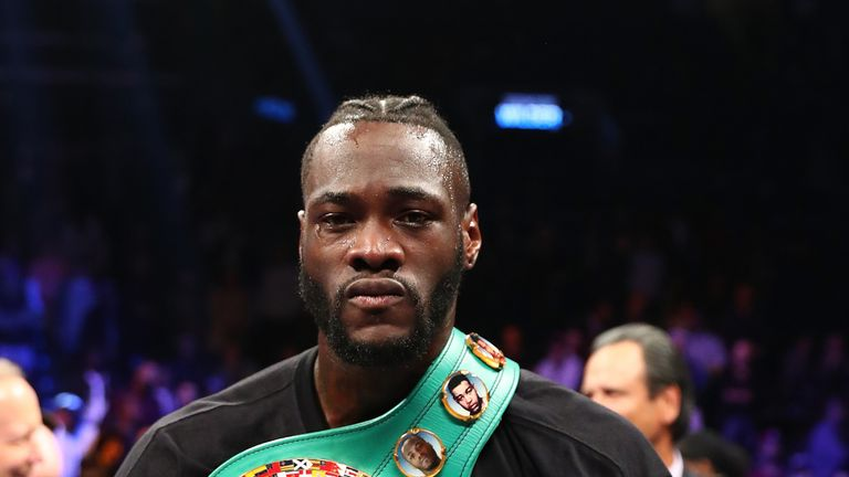 Hearn has also held negotiations about a fight with Deontay Wilder