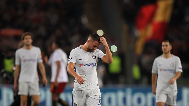 Danny Drinkwater has begun only one game since joining Chelsea in the summer
