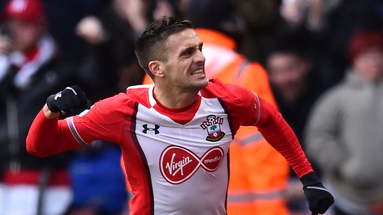 Dusan Tadic opened the scoring for Southampton