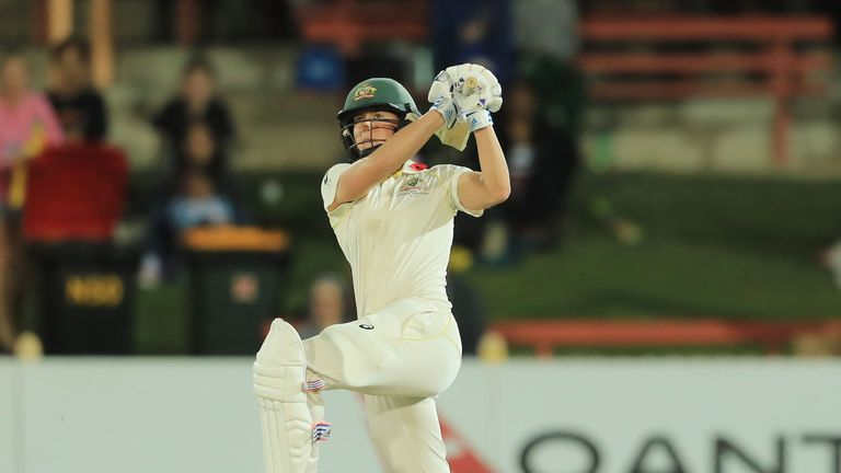 Ellyse Perry hit an impressive 213 not out in the Women's Ashes Test