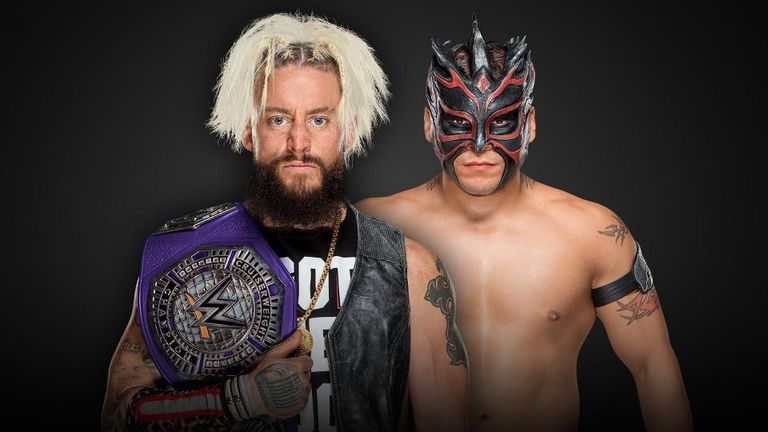 Enzo Amore defends his cruiserweight title against Kalisto at Survivor Series