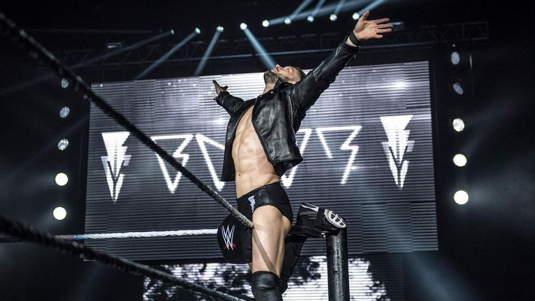 Finn Balor got huge crowd reactions all over Britain on the recent WWE tour