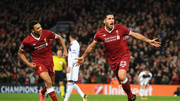 Emre Can is out of contract at the end of the season and free to speak to other clubs