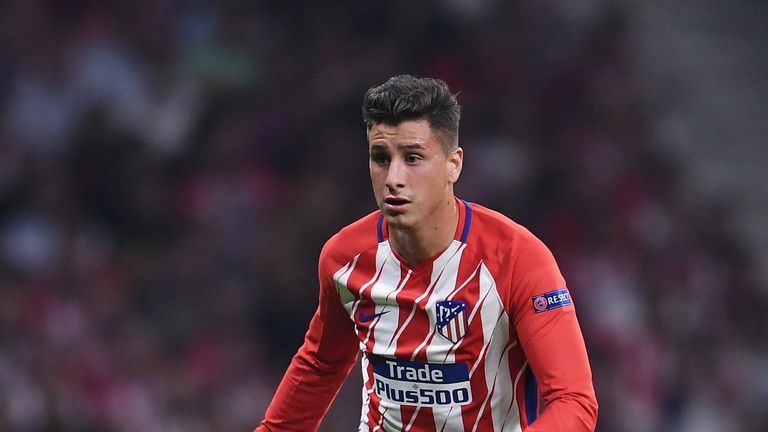 MADRID, SPAIN - SEPTEMBER 27: José Gimenez of Atletico Madrid in action during the UEFA Champions League group C match between Atletico Madrid and Chelsea