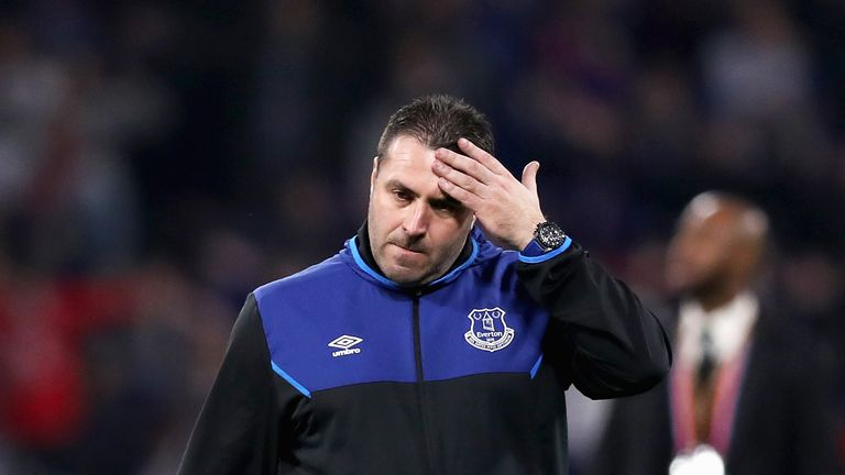 David Unsworth thinks the decision to award Everton a penalty on Saturday was correct